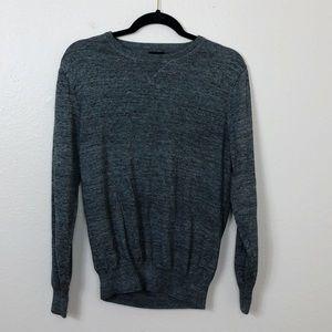 J.Crew crewneck heathered gray sweater